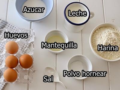 hot cakes ingredientes
