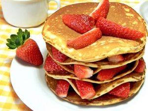 receta de hot cakes con fruta 3