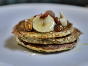 receta de hot cakes saludables