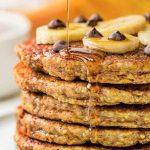 Hot Cakes de Avena y Plátano