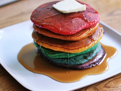 hot cakes de colores