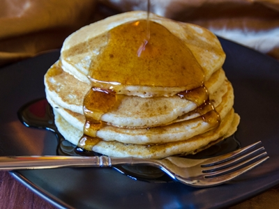 hot cakes sin leche