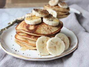 receta de hot cakes de platano